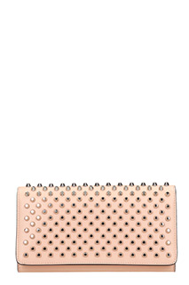 Christian Louboutin-Maccaron wallet rose-pink leather wallet