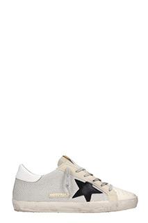 Golden Goose Deluxe Brand-Sneakers basse S. Star in canvas corda