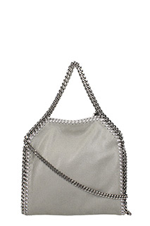 Stella McCartney-Borsa Falabella Mini Tote in shaggy deer grey