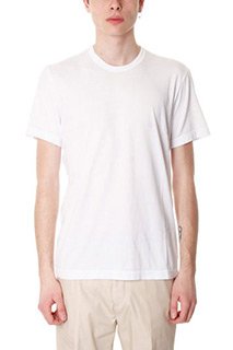 James Perse-T-Shirt in cotone bianco