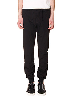 Department Five-Pantaloni Crou in cotone nero