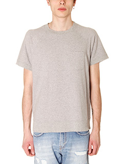 Department Five-T-Shirt Erg in cotone grigio
