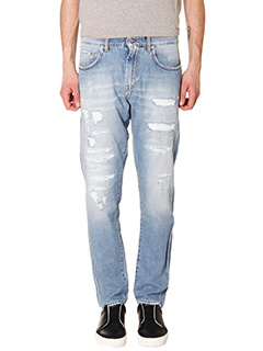 Department Five-Jeans Pri J in denim azzurro