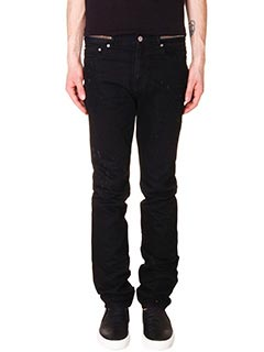Givenchy-Jeans in denim nero