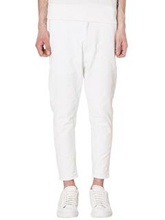 Jil Sander-Jeans in denim bianco