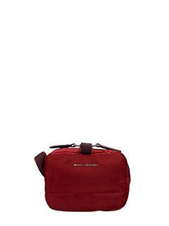 Marc Jacobs-Pochette Beauty Small Cosmetic in tessuto bordeaux