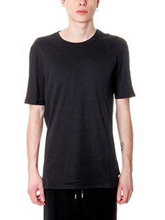 Helmut Lang-T-Shirt Tee Brushed in cotone nero