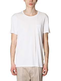Low Brand-T-Shirt B2 in cotone bianco