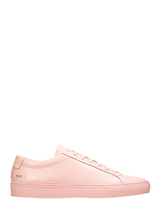 Common Projects-Sneakers basse Achilles Original in pelle rosa