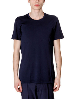 Low Brand-T-Shirt in cotone blue
