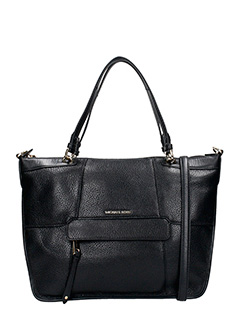 Michael Kors-Borsa Shopping in pelle nera