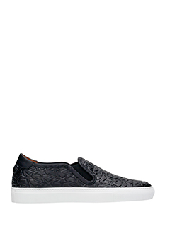 Givenchy-Sneakers Street knots in pelle nera