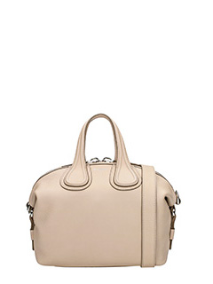 Givenchy-Borsa Nightingale Small in pelle rosa