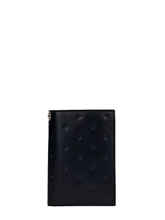 Givenchy-black leather wallet