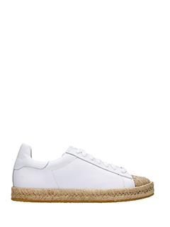 Alexander Wang-Sneakers Rian in pelle bianca
