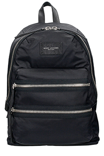 Marc Jacobs-black nylon backpack