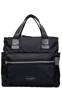Marc Jacobs-Borsa Tote Baby Bag in nylon nero