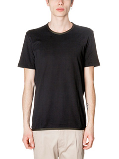 Low Brand-T-Shirt B32  in cotone nero
