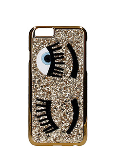 Chiara Ferragni-Cover IPhone S6 Flirting Glitter  oro