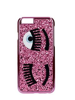 Chiara Ferragni-pink PVC cover