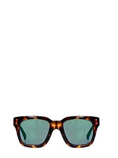 Linda Farrow-Occhiali da Sole 71 C 30  in acetato tartaruga