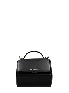 Givenchy-Borsa Pandora Box Chain in pelle nera