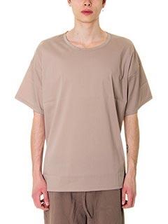 DonVich-T-Shirt  in cotone fango