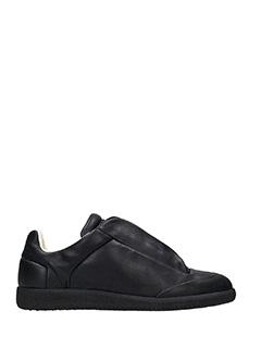Maison Margiela-Sneakers basse Future in pelle nera