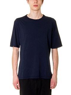 DonVich-T-Shirt Hem  in cotone blue