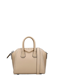Givenchy-Borsa Antigona Mini in pelle beige