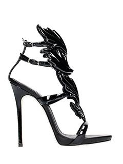Giuseppe Zanotti-coline 110 black leather sandals