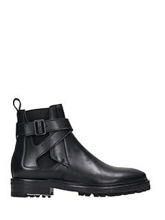Lanvin-Tronchetti Chelsea Boot in pelle nera