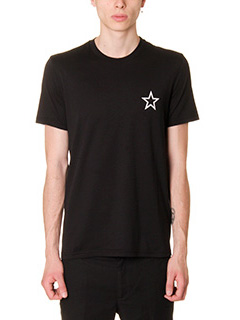 Givenchy-T-Shirt Regular in cotone nero