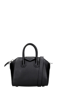 Givenchy-Borsa Antigona Mini in pelle nera