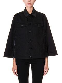 Givenchy-Cappa in cotone nero