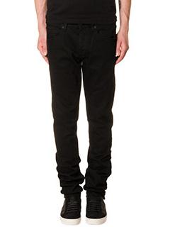 Off White-Jeans Slim Fit in denim nero
