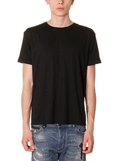 Valentino-T-Shirt in cotone nero