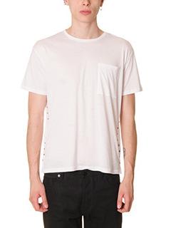 Valentino-T-Shirt in cotone bianco