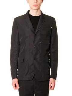 Givenchy-Giacca in tessuto tecnico nero