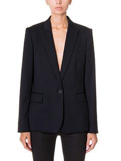 Stella McCartney-Blazer in lana nera