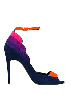 Pierre Hardy-Sandali Roxy in suede multicolor