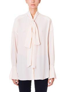 Chlo�-powder silk shirt
