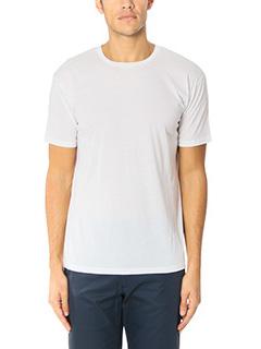 Valentino-T-Shirt Basic in cotone bianco