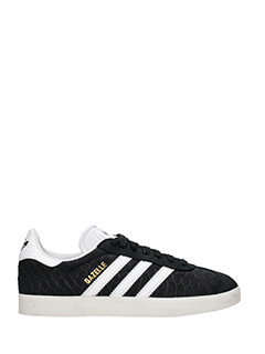 Adidas-gazelle W black Tech/syntetic sneakers
