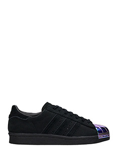 Adidas-s.star 80s meta black leather sneakers