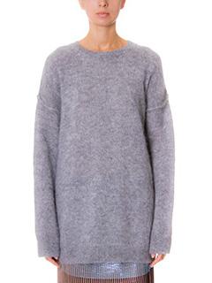 Golden Goose Deluxe Brand-grey wool knitwear