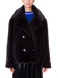 Golden Goose Deluxe Brand-Cappotto Kate Oversize in ecopelliccia