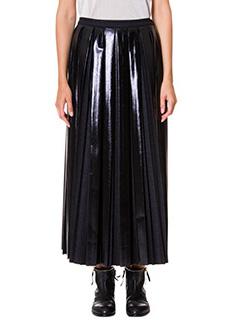 Golden Goose Deluxe Brand-skirt pliss� grey wool skirt
