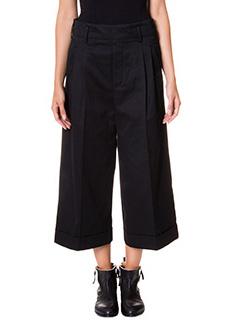 Golden Goose Deluxe Brand-Pantaloni Andrea in cotone nero