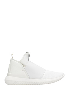 Adidas-tubular defiant white Tech/synthetic sneakers